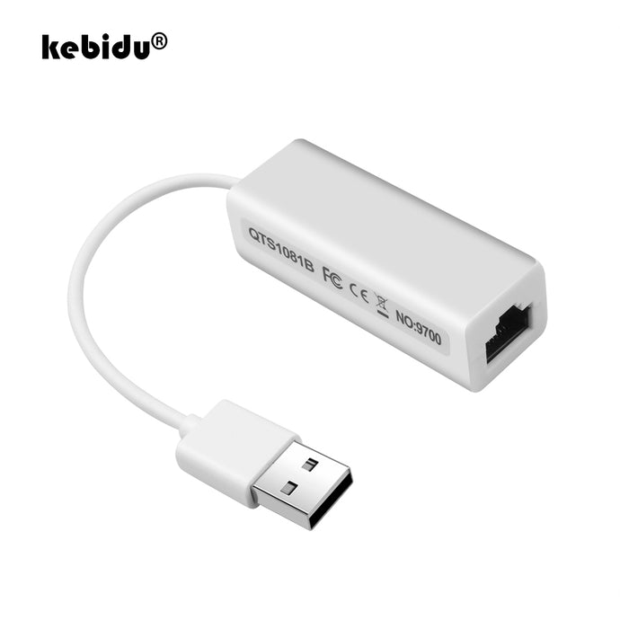 USB 2.0 to RJ45, Ethernet Network LAN Adapter 10/100, Super Speed USB 2.0 - FlexPro