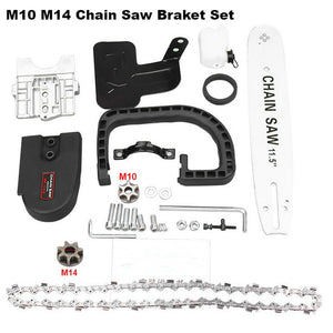 Chain Saw Bracket Set, 11.5 Inch M10/M14/M16, Electric Saw Parts: 100 - 125 - 150 - FlexPro