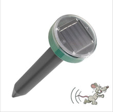 Load image into Gallery viewer, Garden Solar Ultrasonic Repeller,  Control: Mole, Mouse, Pest, Snake, Mosquito. - FlexPro