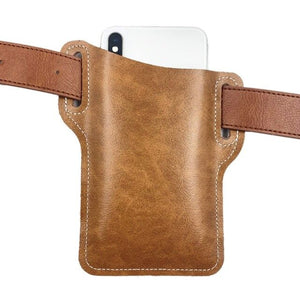 Fashion Leather Mobile Phone Holster, Universal - FlexPro