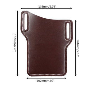 Fashion Leather Mobile Phone Holster, Universal - BittyDeal