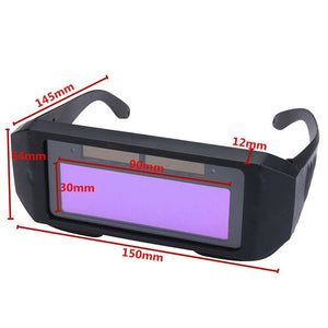 Auto Darkening Welding Glasses, UV protection Anti-glare% - BittyDeal