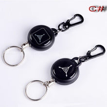 Load image into Gallery viewer, Steel Rope Burglar Keychain, Tactical Retractable Key - BittyDeal