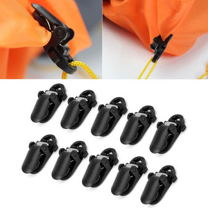 10Pcs Clamp Tarp, Clip Snap, Canvas Anchor Gripper - FlexPro