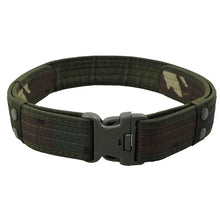 Load image into Gallery viewer, Sport & Tactical Belt, 2 Inch Canvas Duty, with Plastic Buckle, Adjustable & Loop Waistband, Combat, Army, Military - BittyDeal