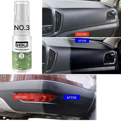 20ml retreading agent interior leather maintenance cleaner Refurbisher Agent Window Glass Auto Car Accessories Care Leather Shoe - BittyDeal