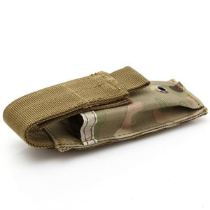 Single Pistol, Knife, Flashlight, Magazine Pouch, Military Molle Holster, Tactical Accessories - BittyDeal
