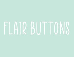 Flair Buttons Flat Back
