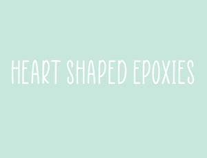 Heart Shaped Epoxies