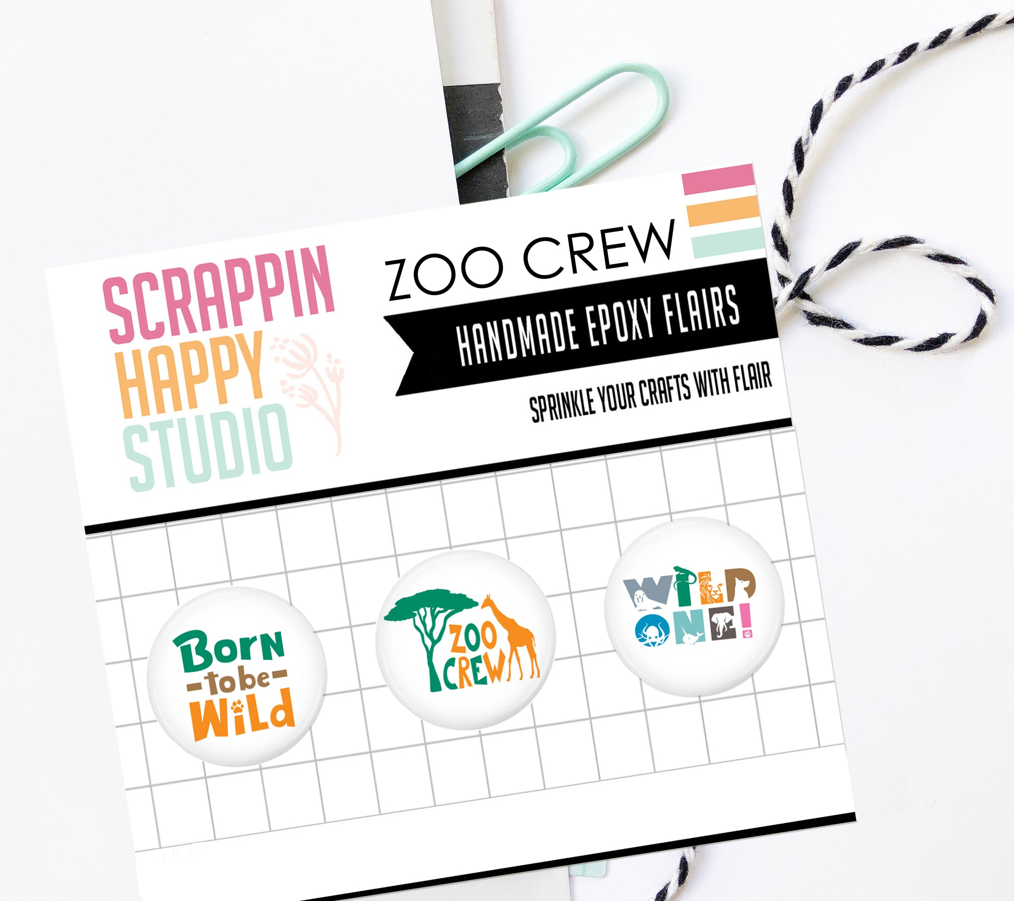 Zoo Crew Epoxy Flair