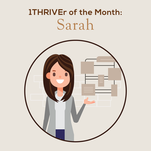 1THRIVEr of the Month: Sarah and Her Stylists Set Clear Cut Goals