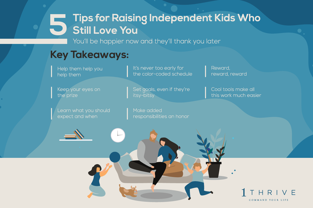 5 Tips for Raising Independent Kids Who Still Love You