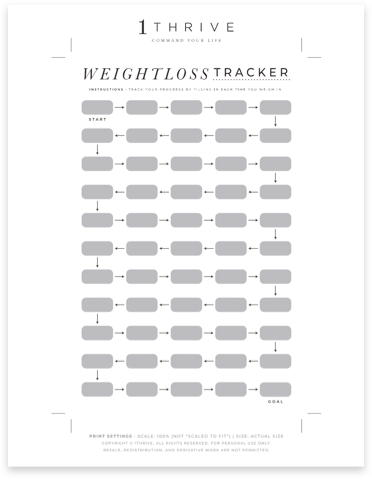 Weight Loss Progress Tracker