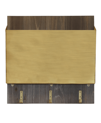 Brushed Gold File Holder