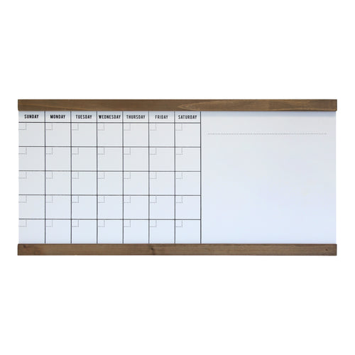 Large White Monthly 1WRITE Board