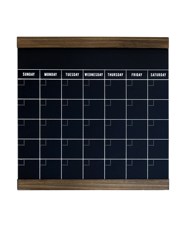 Medium Black Monthly 1WRITE Board