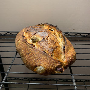Olive, Rosemary and Lemon Sourdough