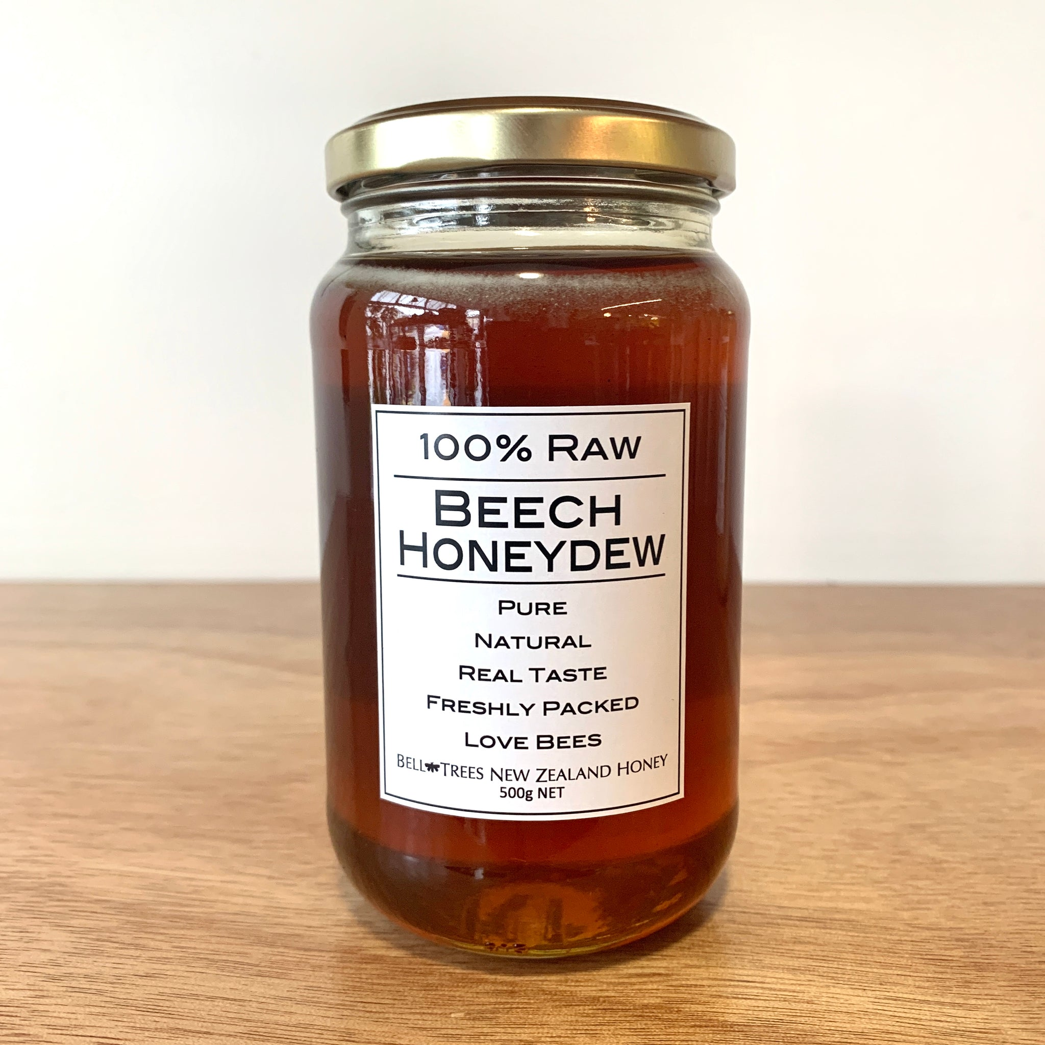 Bell Trees 100% raw Beech Honeydew Honey.