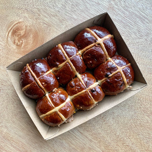 Hot cross bun 6pk