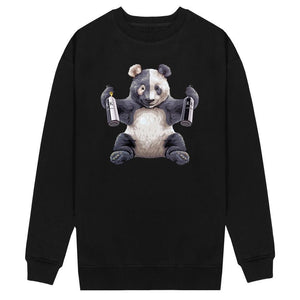 Open image in slideshow, RK PANDA SWEATER
