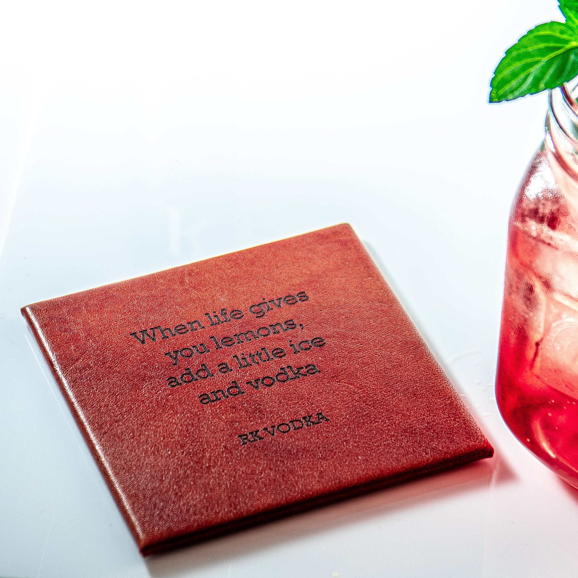 PERSONALISED COASTER