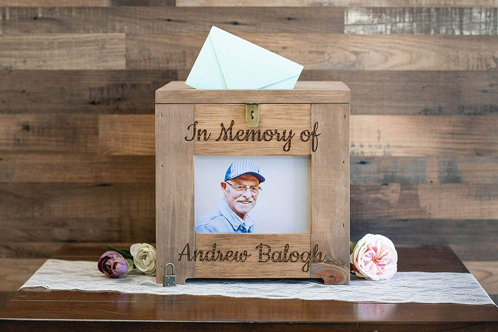 Memorial Card Box, Personalized