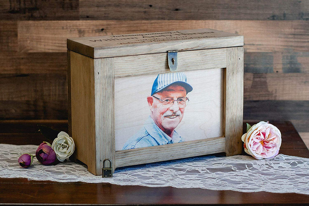 Memorial Personalized Mantle Box