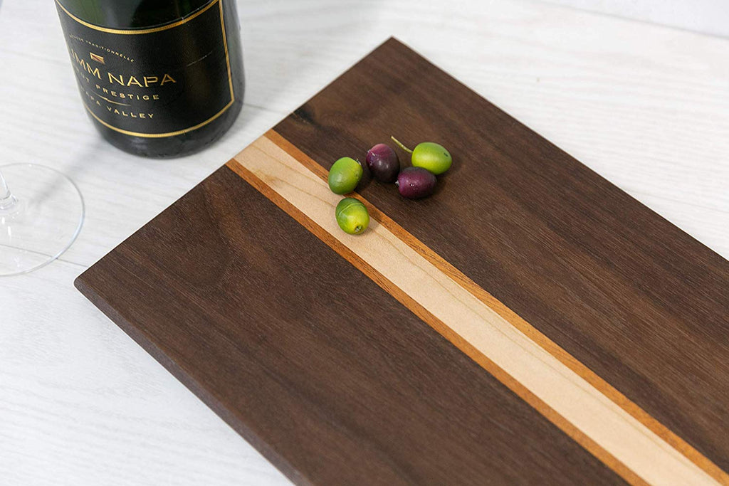Hardwood Charcuterie Board- Walnut, Mahogany, Maple Hardwoods