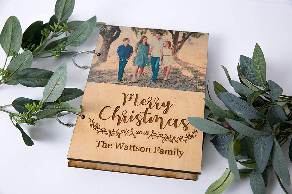 Christmas Card Personalized Binder