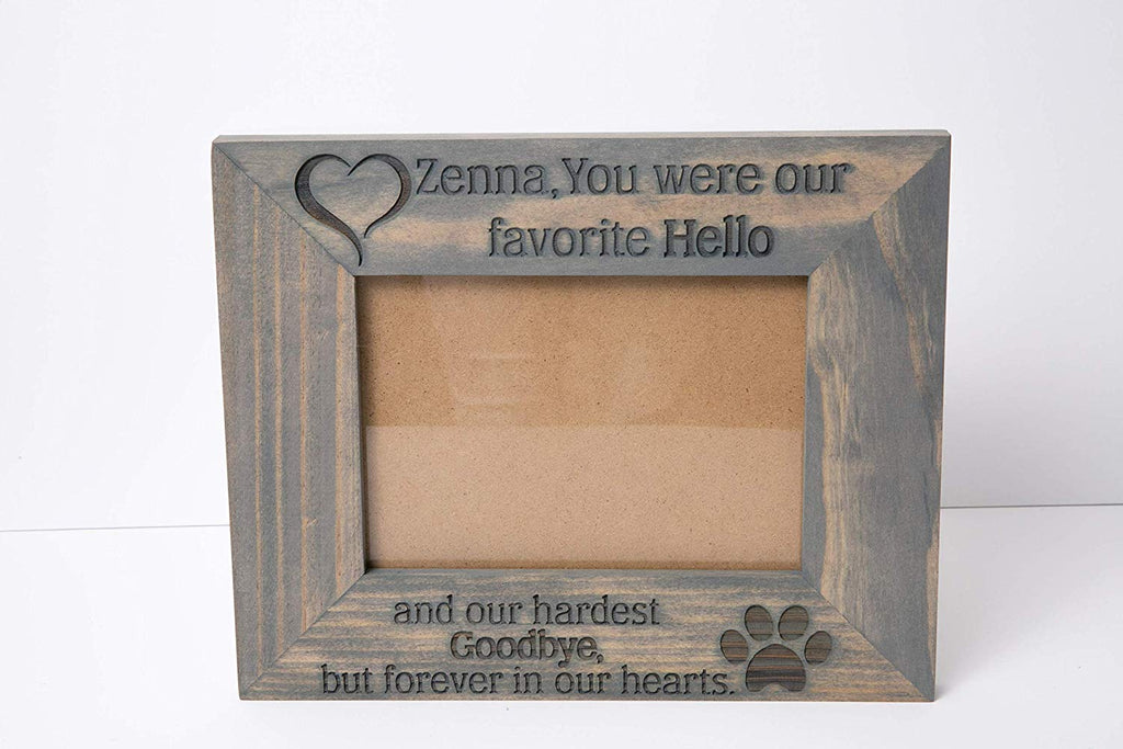 True Friends are Never Far Apart Picture Frame Engraved Wood
