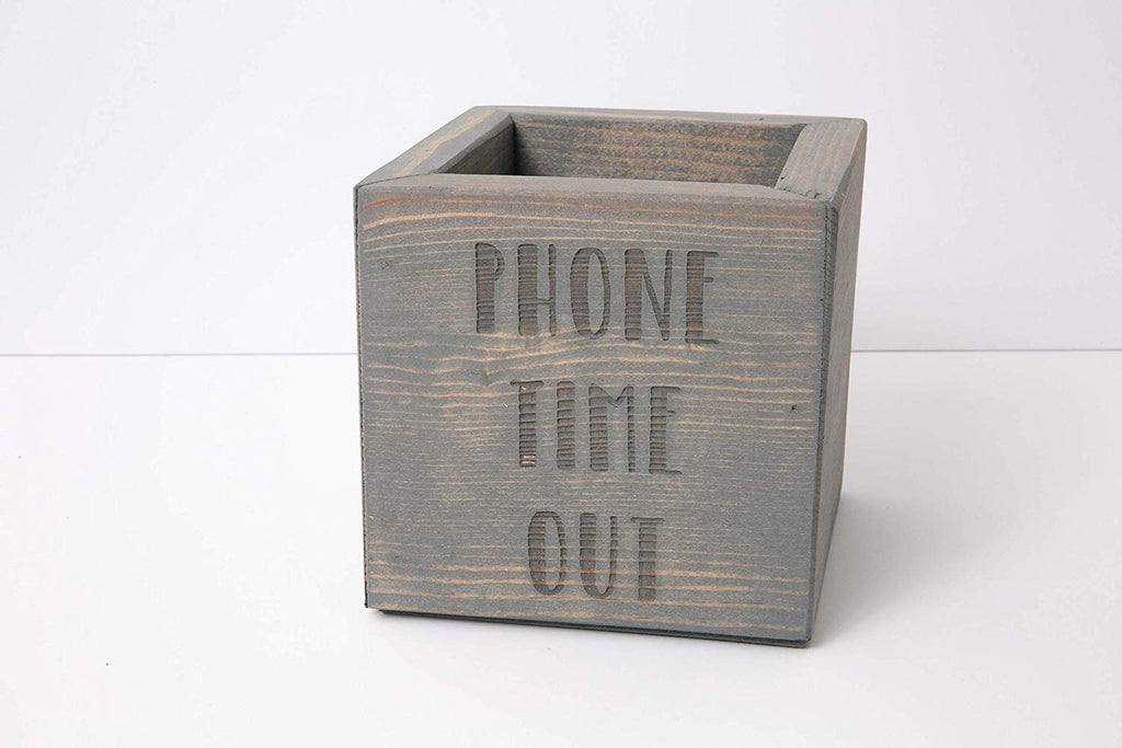 Unplug Box - Personalized Family Phone Time Out