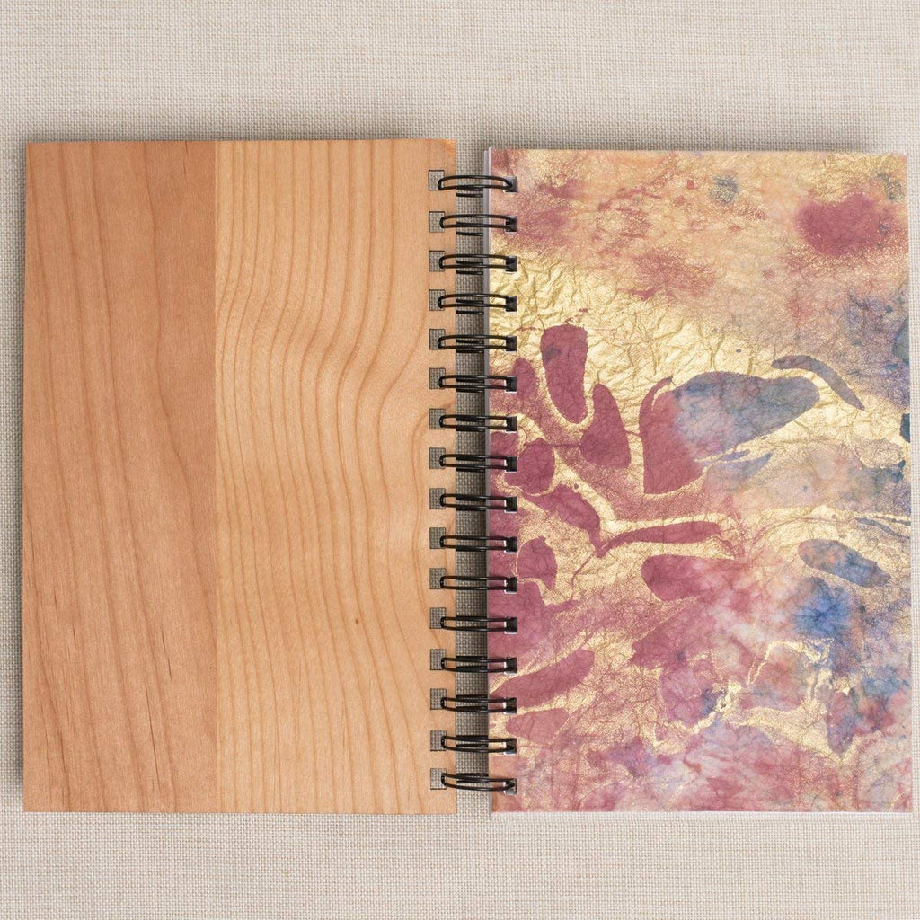 Officiant Wedding Vows Personalized Wood Journal