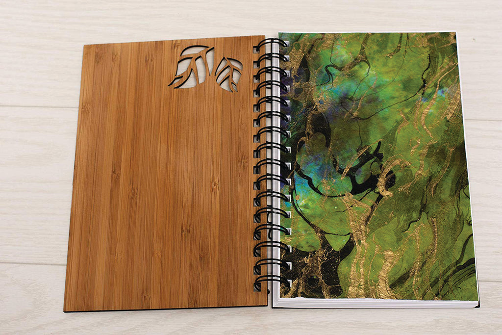 Bearded Dragon Wood Journal