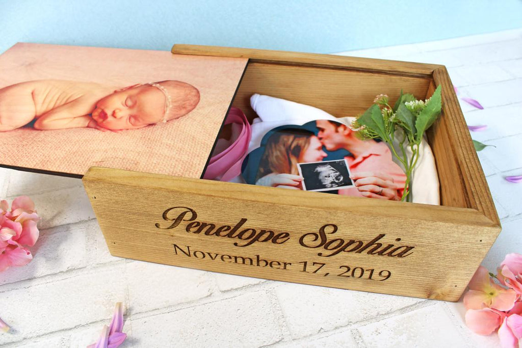 Baby Keepsake Box, Personalized