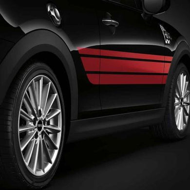 Bandes Latérales Rouges MINI JCW PRO - Europe BM Shop