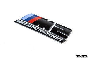 Logo de malle Brillant Noir BMW M2 Competition - Europe BM Shop