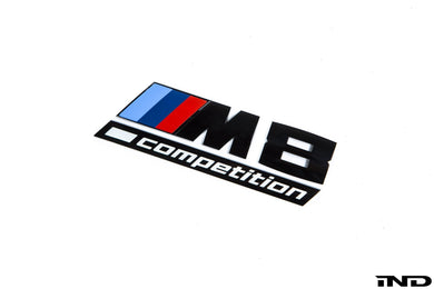 Logo de malle Brillant Noir BMW F92 M8 Competition - Europe BM Shop
