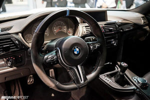 Volant Alcantara V2 BMW M Performance M2 M3 M4 - Europe BM Shop