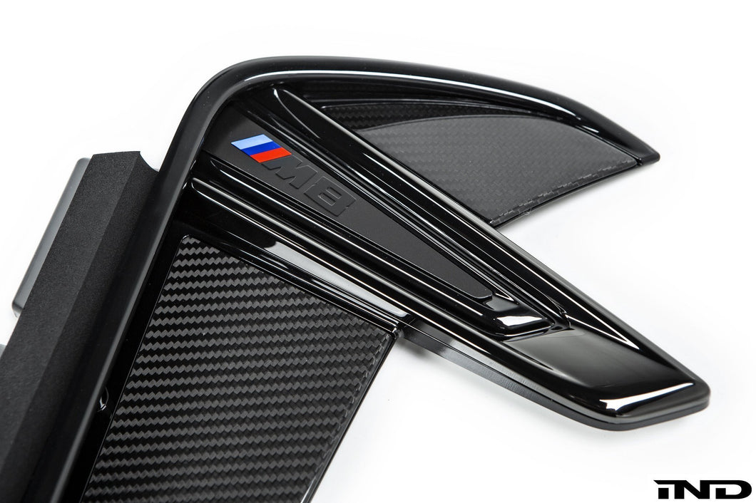 Grilles d'ailes Carbone BMW M Performance M8 F92 - Europe BM Shop
