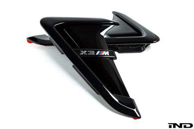 Grilles d'ailes BMW M Performance X3M - Europe BM Shop