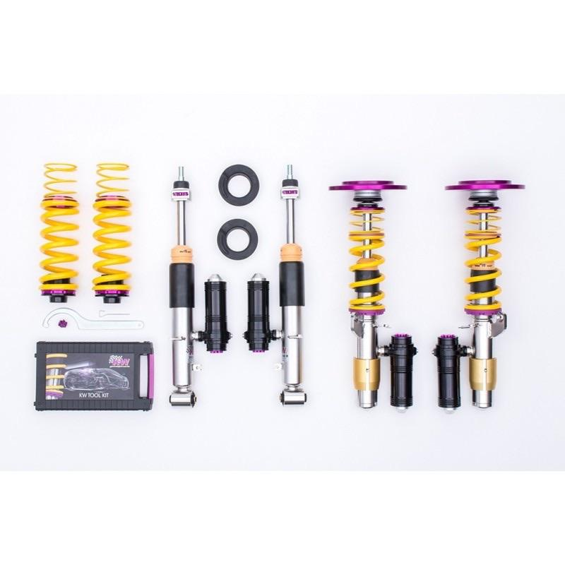 Kit combinés filetés KW Clubsport 3 voies BMW M3 E46 CSL - Europe BM Shop