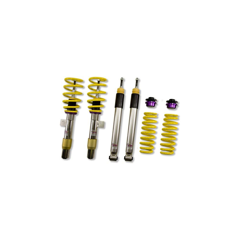 Kit combinés filetés KW V1 Inox BMW M3 E90 E92 - Europe BM Shop