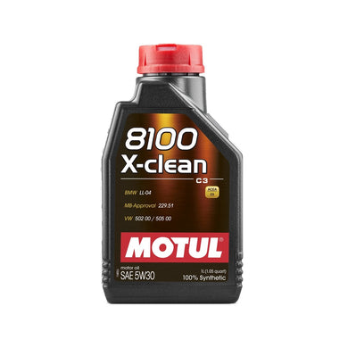 MOTUL 8100 X-CLEAN+ 5W30 BMW LL-04 - Europe BM Shop