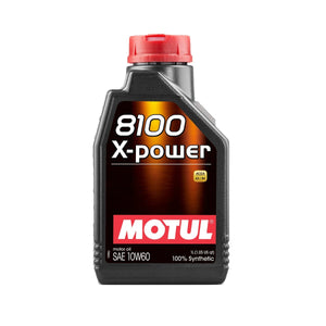 MOTUL 8100 X-POWER 10W60 Motorsport - Europe BM Shop