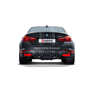 Slip On Akrapovic titane BMW M4 F82 F83 - Europe BM Shop