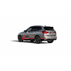 Slip On titane Akrapovic BMW X3M X4M F97 avec FAP - Europe BM Shop