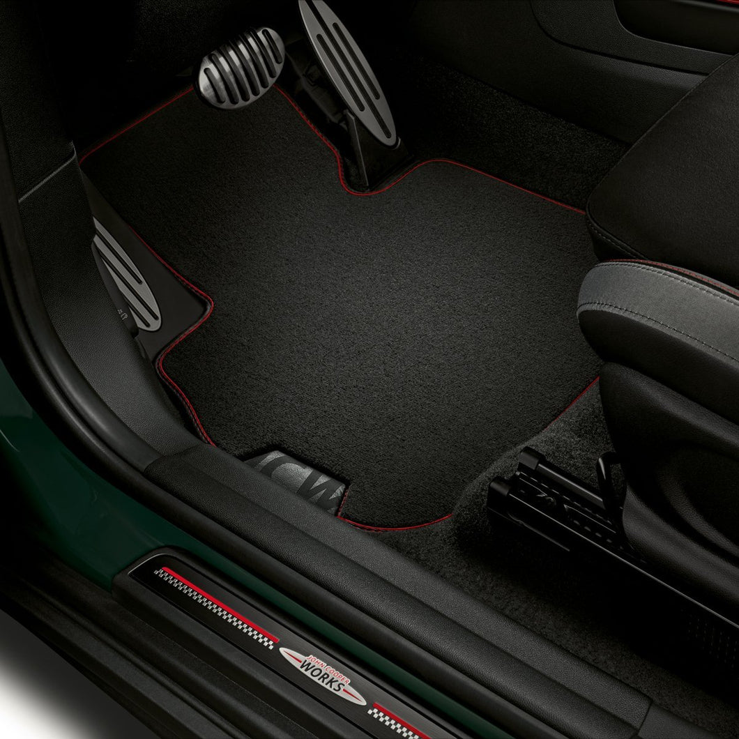 Tapis de Sol Avant MINI JCW Design - Europe BM Shop