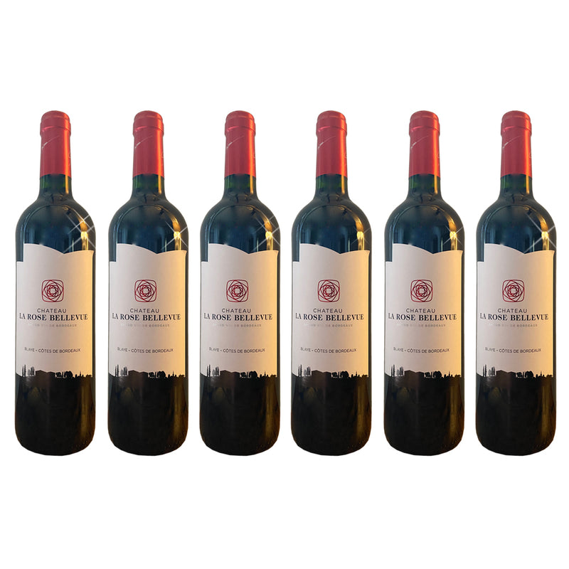 6x Chateau La Rose Bellevue Cotes de Bordeaux Rouge 2018