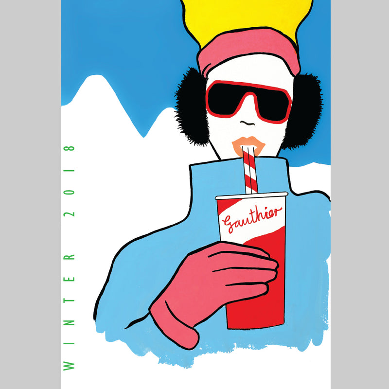 'Apres Ski' Winter 2018 menu Print