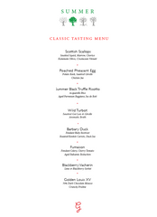 Gauthier Soho - Classic Tasting Menu for Two